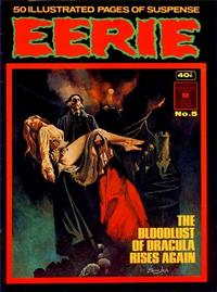 Cover Thumbnail for Eerie (K. G. Murray, 1974 series) #5