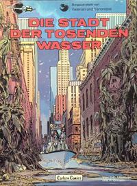 Cover Thumbnail for Valerian und Veronique (Carlsen Comics [DE], 1978 series) #1 - Die Stadt der tosenden Wasser