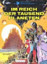 Cover Thumbnail for Valerian und Veronique (Carlsen Comics [DE], 1978 series) #2 - Im Reich der tausend Planeten