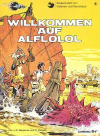 Cover Thumbnail for Valerian und Veronique (Carlsen Comics [DE], 1978 series) #4 - Willkommen auf Alflolol