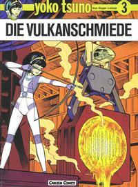 Cover Thumbnail for Yoko Tsuno (Carlsen Comics [DE], 1982 series) #3 - Die Vulkanschmiede