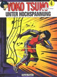 Cover Thumbnail for Yoko Tsuno (Carlsen Comics [DE], 1982 series) #4 - Unter Hochspannung
