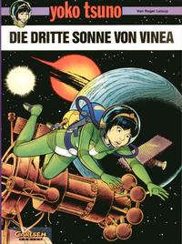 Cover Thumbnail for Yoko Tsuno (Carlsen Comics [DE], 1982 series) #6 - Die dritte Sonne von Vinea