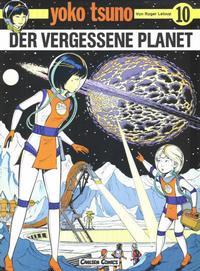 Cover Thumbnail for Yoko Tsuno (Carlsen Comics [DE], 1982 series) #10 - Der vergessene Planet