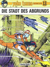 Cover Thumbnail for Yoko Tsuno (Carlsen Comics [DE], 1982 series) #13 - Die Stadt des Abgrunds