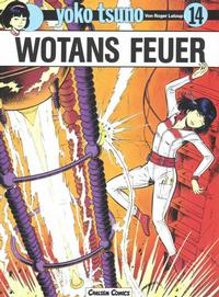 Cover Thumbnail for Yoko Tsuno (Carlsen Comics [DE], 1982 series) #14 - Wotans Feuer