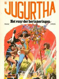 Cover Thumbnail for Jugurtha (Le Lombard, 1977 series) #11 - Het vuur der herinneringen