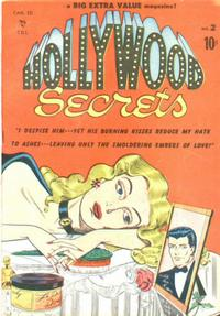 Cover Thumbnail for Hollywood Secrets (Bell Features, 1950 series) #2
