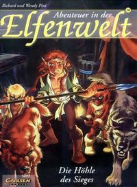 Cover Thumbnail for Abenteuer in der Elfenwelt (Carlsen Comics [DE], 1997 series) #10 - Die Höhle des Sieges