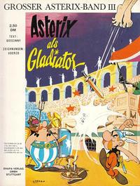 Cover Thumbnail for Asterix (Egmont Ehapa, 1968 series) #3 - Asterix als Gladiator