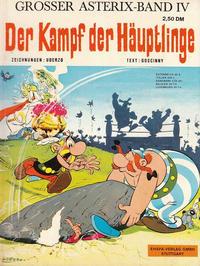 Cover Thumbnail for Asterix (Egmont Ehapa, 1968 series) #4 - Der Kampf der Häuptlinge