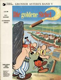 Cover Thumbnail for Asterix (Egmont Ehapa, 1968 series) #5 - Die goldene Sichel