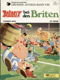 Cover Thumbnail for Asterix (Egmont Ehapa, 1968 series) #8 - Asterix bei den Briten