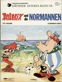 Cover Thumbnail for Asterix (Egmont Ehapa, 1968 series) #9 - Asterix und die Normannen