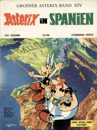 Cover Thumbnail for Asterix (Egmont Ehapa, 1968 series) #14 - Asterix in Spanien
