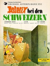 Cover Thumbnail for Asterix (Egmont Ehapa, 1968 series) #16 - Asterix bei den Schweizern