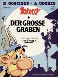 Cover Thumbnail for Asterix (Egmont Ehapa, 1968 series) #25 - Der große Graben
