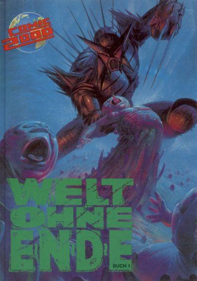Cover for Comic 2000 (Norbert Hethke Verlag, 1991 series) #4 - Welt ohne Ende 1