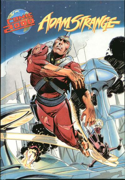 Cover for Comic 2000 (Norbert Hethke Verlag, 1991 series) #5 - Adam Strange