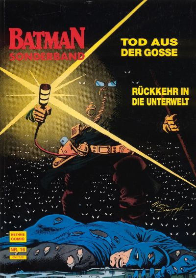 Cover for Batman Sonderband (Norbert Hethke Verlag, 1989 series) #16 - Rattenfänger