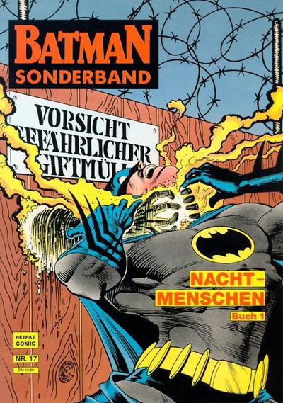 Cover for Batman Sonderband (Norbert Hethke Verlag, 1989 series) #17 - Nachtmenschen