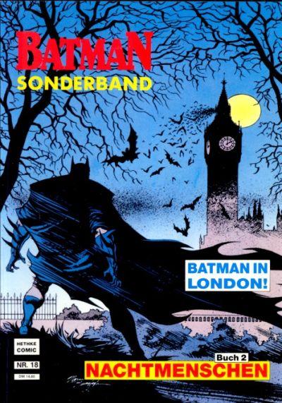 Cover for Batman Sonderband (Norbert Hethke Verlag, 1989 series) #18 - Nachtmenschen