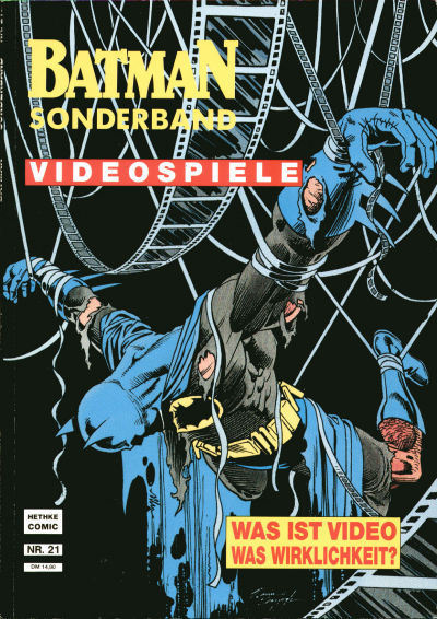 Cover for Batman Sonderband (Norbert Hethke Verlag, 1989 series) #21 - Videospiele