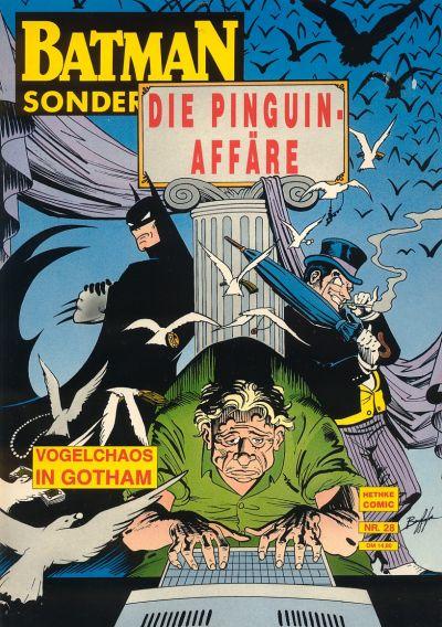 Cover for Batman Sonderband (Norbert Hethke Verlag, 1989 series) #28 - Die Pinguin Affäre, Teil 1