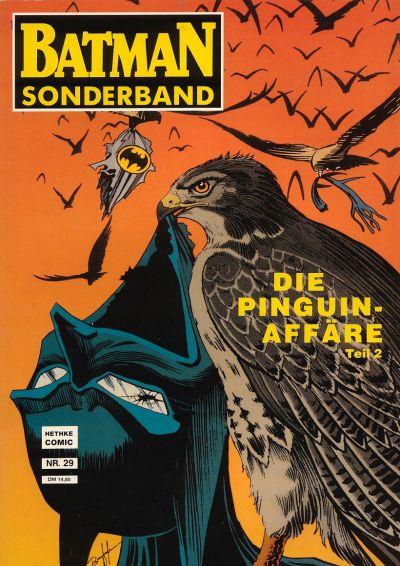 Cover for Batman Sonderband (Norbert Hethke Verlag, 1989 series) #29 - Die Pinguin Affäre, Teil 2