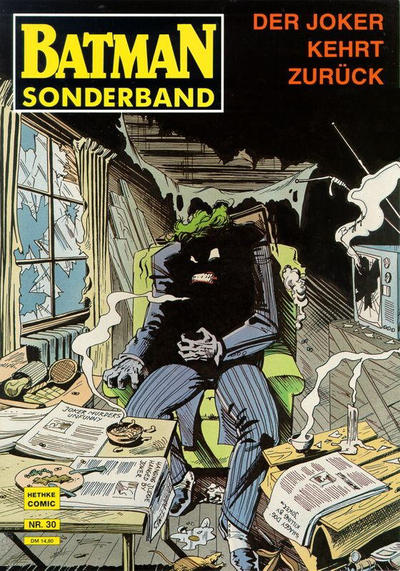Cover for Batman Sonderband (Norbert Hethke Verlag, 1989 series) #30 - Der Joker kehrt zurück
