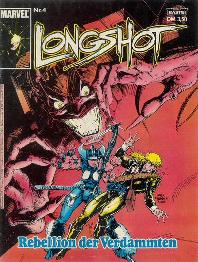 Cover for Longshot (Bastei Verlag, 1988 series) #4