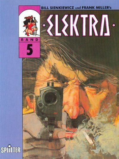 Cover for Elektra (Splitter, 1989 series) #5