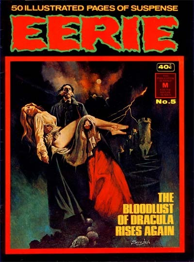 Cover for Eerie (K. G. Murray, 1974 series) #5
