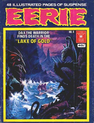 Cover for Eerie (K. G. Murray, 1974 series) #8