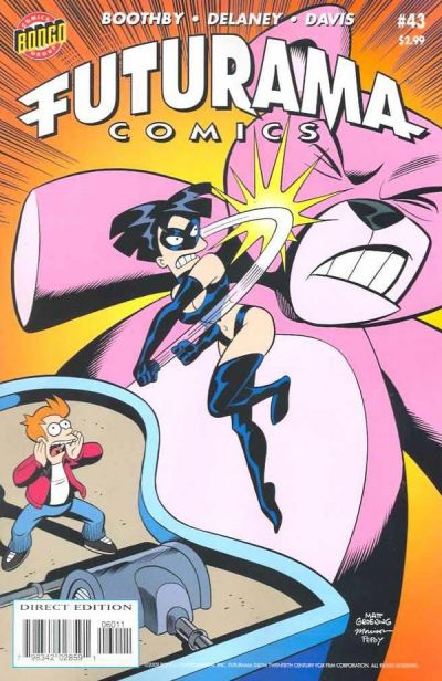 Cover for Bongo Comics Presents Futurama Comics (Bongo, 2000 series) #43