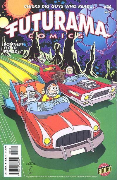 Cover for Bongo Comics Presents Futurama Comics (Bongo, 2000 series) #44
