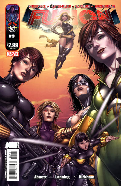 Cover for Fusion (Image, 2009 series) #3