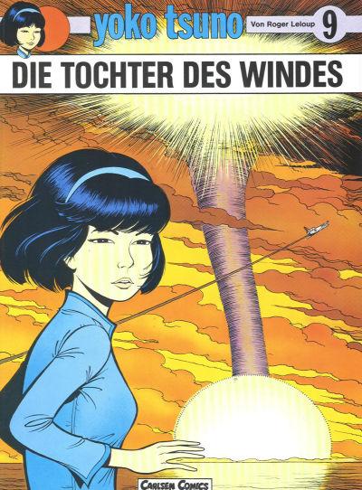 Cover for Yoko Tsuno (Carlsen Comics [DE], 1982 series) #9 - Die Tochter des Windes