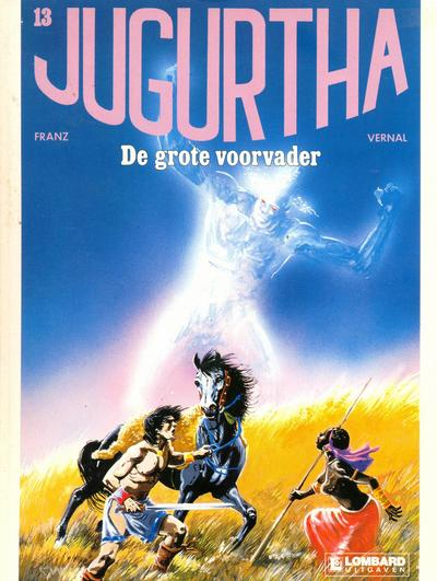 Cover for Jugurtha (Le Lombard, 1977 series) #13 - De grote voorvader