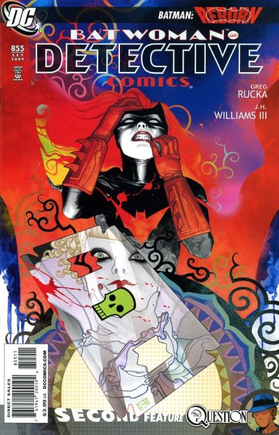 Cover for Detective Comics (DC, 1937 series) #855