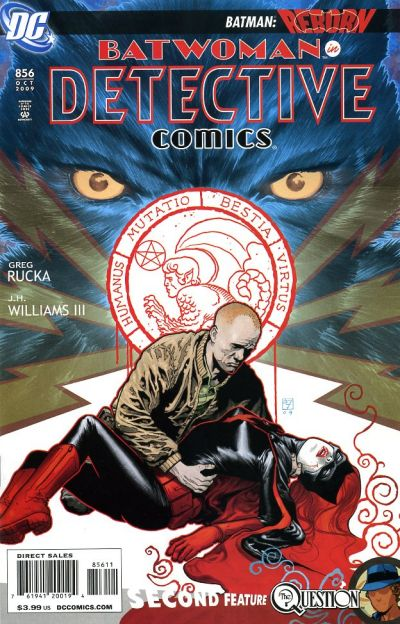 Cover for Detective Comics (DC, 1937 series) #856