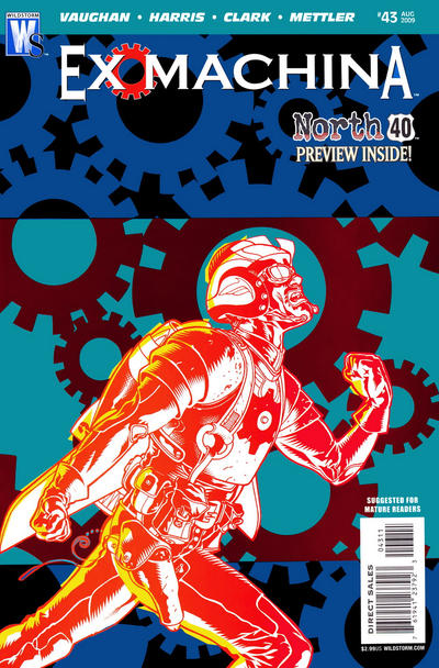 Cover for Ex Machina (DC, 2004 series) #43