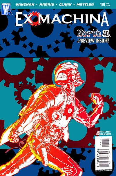 Cover for Ex Machina (DC, 2004 series) #43