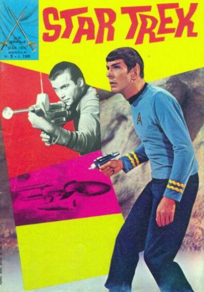 Cover for Star Trek [Albi Spada] (Edizioni Fratelli Spada, 1972 series) #2