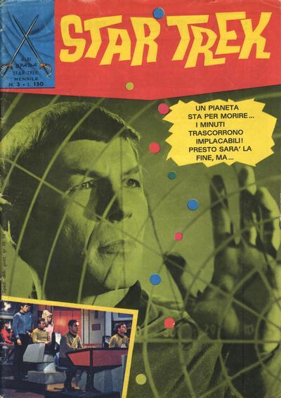 Cover for Star Trek [Albi Spada] (Edizioni Fratelli Spada, 1972 series) #3