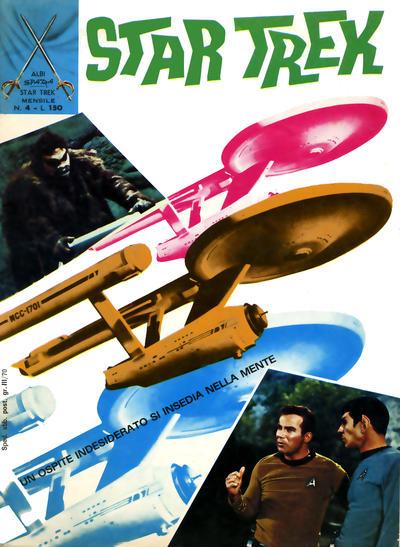 Cover for Star Trek [Albi Spada] (Edizioni Fratelli Spada, 1972 series) #4