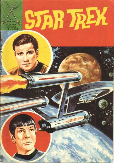 Cover for Star Trek [Albi Spada] (Edizioni Fratelli Spada, 1972 series) #5