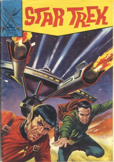 Cover for Star Trek [Albi Spada] (Edizioni Fratelli Spada, 1972 series) #7