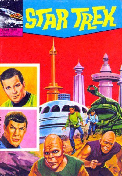 Cover for Star Trek [Albi Spada] (Edizioni Fratelli Spada, 1972 series) #12
