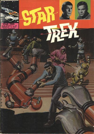 Cover for Star Trek [Albi Spada] (Edizioni Fratelli Spada, 1972 series) #13